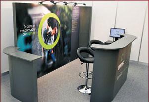 stand personnalisé ecoscène